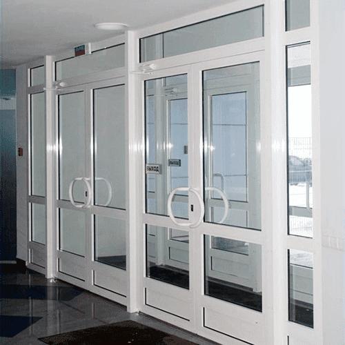 Plastic office doors