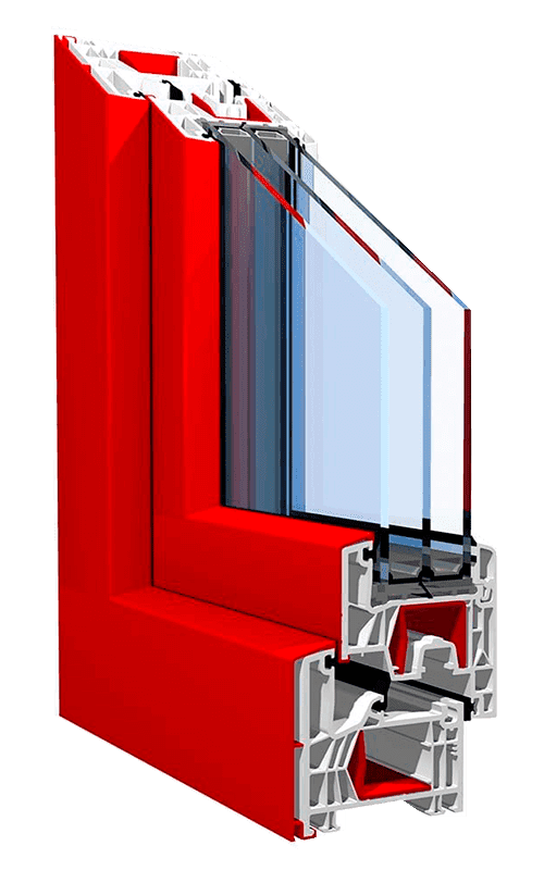 Пластикові вікна з алюмінієвою накладкою