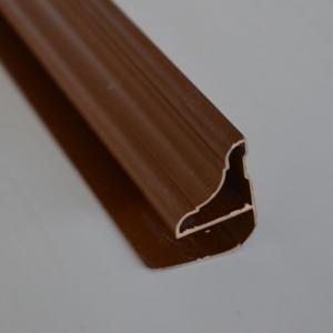 Плинтус коричневый