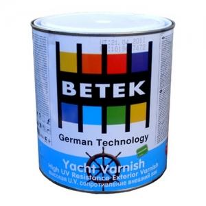 Лак яхтный Betek