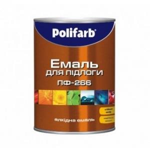 Алкидная износостойкая эмаль для пола ПФ-266