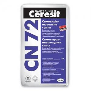 Смесь самовыравнивающаяся Ceresit CN-72 25 кг